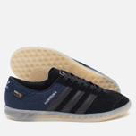 Мужские кроссовки adidas Originals Hamburg Tech Core Black/Chalk White фото- 2