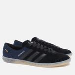 Мужские кроссовки adidas Originals Hamburg Tech Core Black/Chalk White фото- 1