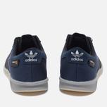 Мужские кроссовки adidas Originals Hamburg Tech Core Black/Chalk White фото- 3