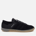 Мужские кроссовки adidas Originals Hamburg Tech Core Black/Core Black/Silver Metallic фото- 0