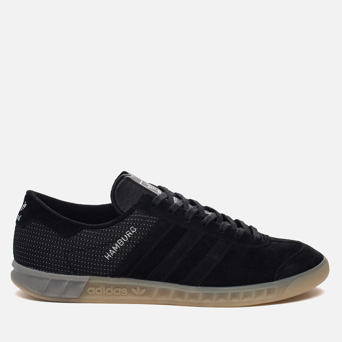 Мужские кроссовки adidas Originals Hamburg Tech Core Black/Core Black/Silver Metallic