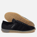 Мужские кроссовки adidas Originals Hamburg Tech Core Black/Core Black/Silver Metallic фото- 2