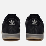 Мужские кроссовки adidas Originals Hamburg Tech Core Black/Core Black/Silver Metallic фото- 3