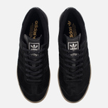 Мужские кроссовки adidas Originals Hamburg Tech Core Black/Core Black/Silver Metallic фото- 4