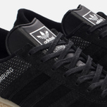 Мужские кроссовки adidas Originals Hamburg Tech Core Black/Core Black/Silver Metallic фото- 5