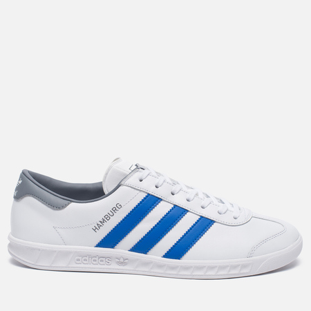 adidas Originals Кроссовки Hamburg White/Blue/Grey