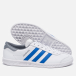Кроссовки adidas Originals Hamburg White/Blue/Grey фото- 1