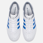Кроссовки adidas Originals Hamburg White/Blue/Grey фото- 4