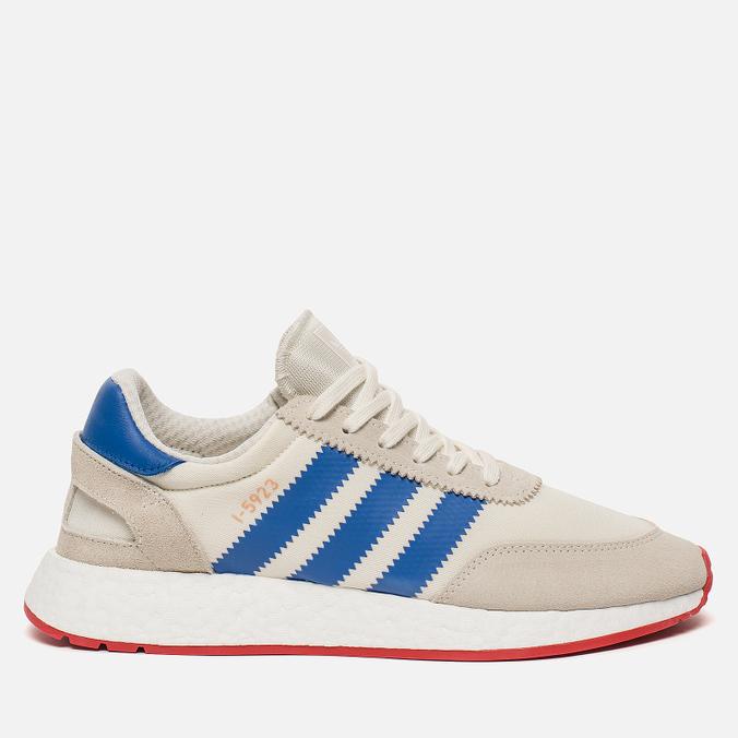 Кроссовки adidas Originals I-5923 Off White/Blue/Core Red
