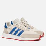 Кроссовки adidas Originals I-5923 Off White/Blue/Core Red фото- 2