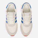 Кроссовки adidas Originals I-5923 Off White/Blue/Core Red фото- 4