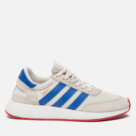 Кроссовки adidas Originals Iniki Runner Boost Off White/Blue/Core Red