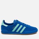 Кроссовки adidas Originals Jeans City Series Bern Blue/Easy Green/Gum фото- 0
