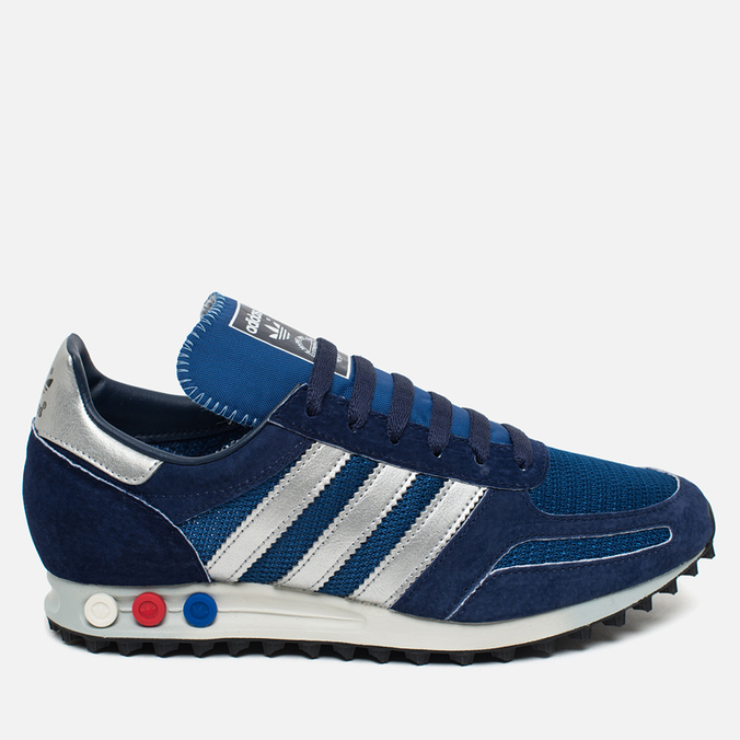 adidas Originals LA Trainer OG Dark Sneakers Marine/Silver Metallic/Dark Blue