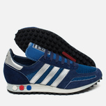 Кроссовки adidas Originals LA Trainer OG Dark Marine/Silver Metallic/Dark Blue фото- 2