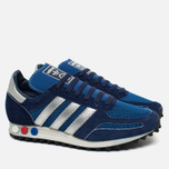 adidas Originals LA Trainer OG Dark Sneakers Marine/Silver Metallic/Dark Blue photo- 1