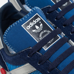 adidas Originals LA Trainer OG Dark Sneakers Marine/Silver Metallic/Dark Blue photo- 6