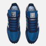Кроссовки adidas Originals LA Trainer OG Dark Marine/Silver Metallic/Dark Blue фото- 3