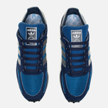 adidas Originals LA Trainer OG Dark Sneakers Marine/Silver Metallic/Dark Blue photo- 3