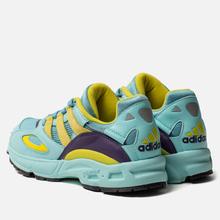 Мужские кроссовки adidas Originals LXCON 94 Clear Aqua/Light Aqua/Shock Yellow фото- 2