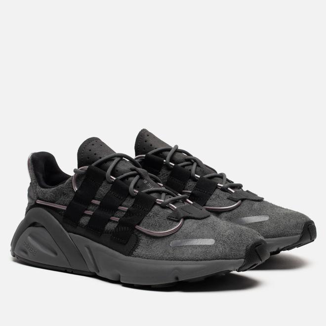 Мужские кроссовки adidas Originals LXCON Grey/Core Black/Signal Green
