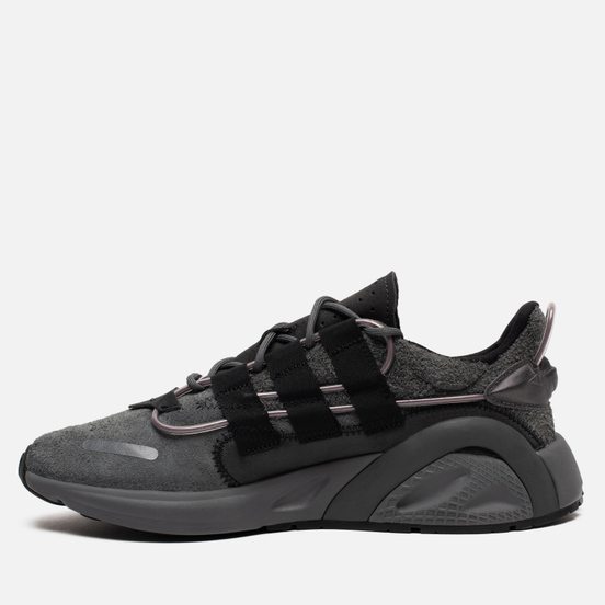 Мужские кроссовки adidas Originals LXCON Grey/Core Black/Signal Green