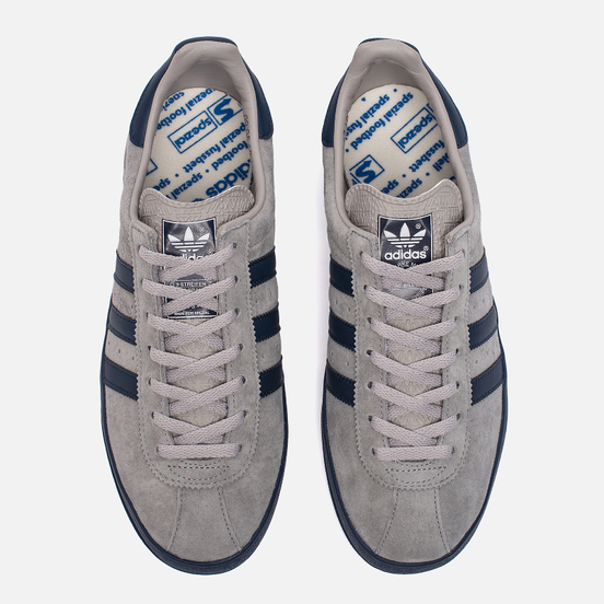 Кроссовки adidas Originals Mallison Spezial Light Onix/Night Navy/White