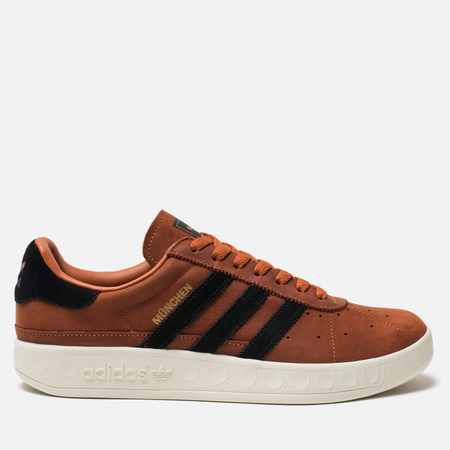 Мужские кроссовки adidas Originals Munchen PU Fox Red/Core Black/Core White