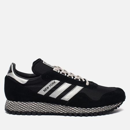 Мужские кроссовки adidas Originals New York Core Black/Silver Metallic/Core Black