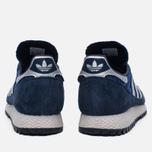 Мужские кроссовки adidas Originals New York Navy/Silver/Black фото- 3