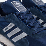 Мужские кроссовки adidas Originals New York Navy/Silver/Black фото- 5