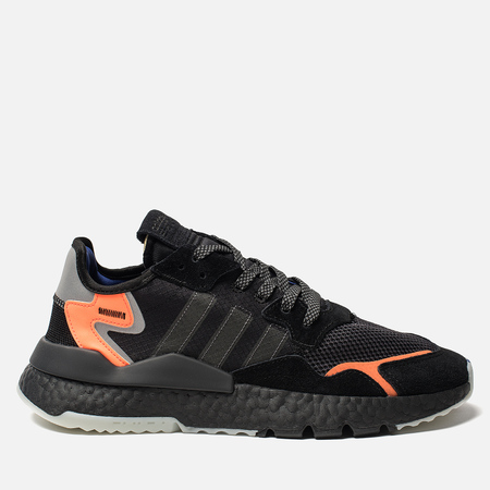 Мужские кроссовки adidas Originals Nite Jogger Core Black/Carbon/Act Blue