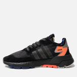 Мужские кроссовки adidas Originals Nite Jogger Core Black/Carbon/Act Blue фото- 1