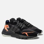 Мужские кроссовки adidas Originals Nite Jogger Core Black/Carbon/Act Blue фото- 2