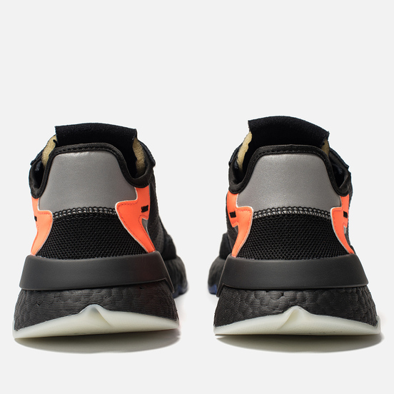 Мужские кроссовки adidas Originals Nite Jogger Core Black/Carbon/Act Blue