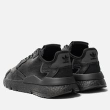Мужские кроссовки adidas Originals Nite Jogger Core Black/Core Black/Core Black фото- 2