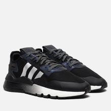 Мужские кроссовки adidas Originals Nite Jogger Core Black/Silver Metallic/White фото- 0