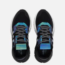 Мужские кроссовки adidas Originals Nite Jogger Core Black/Silver Metallic/White фото- 1