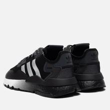 Мужские кроссовки adidas Originals Nite Jogger Core Black/Silver Metallic/White фото- 2