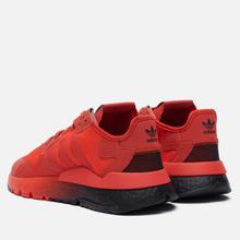 Мужские кроссовки adidas Originals Nite Jogger Hi-Res Red/Hi-Res Red/Core Black фото- 2