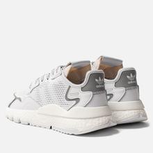 Мужские кроссовки adidas Originals Nite Jogger White/White/White фото- 2