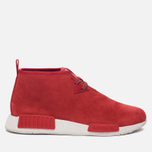 Мужские кроссовки adidas Originals NMD C1 Chukka Boost Lush Red/Lush Red/White фото- 0