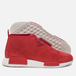 Мужские кроссовки adidas Originals NMD C1 Chukka Boost Lush Red/Lush Red/White фото- 1