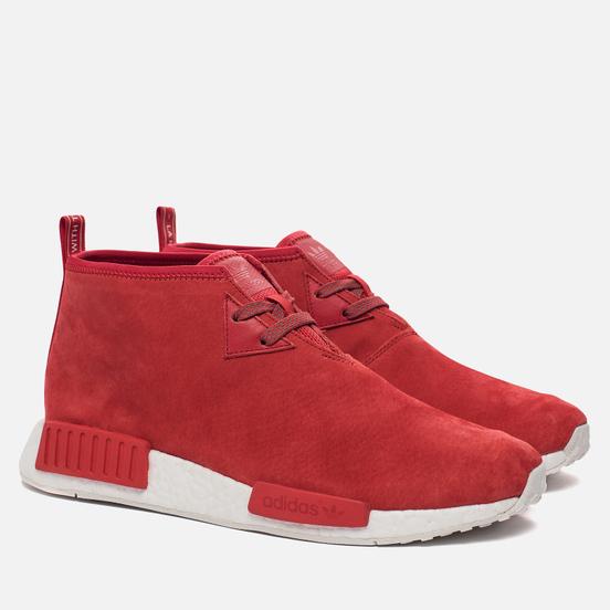 Мужские кроссовки adidas Originals NMD C1 Chukka Boost Lush Red/Lush Red/White