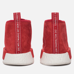 Мужские кроссовки adidas Originals NMD C1 Chukka Boost Lush Red/Lush Red/White фото- 5