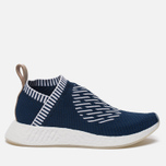 Кроссовки adidas Originals NMD City Sock 2 Primeknit Collegiate Navy/White/White фото- 0
