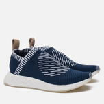 Кроссовки adidas Originals NMD City Sock 2 Primeknit Collegiate Navy/White/White фото- 2