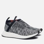 Кроссовки adidas Originals NMD City Sock 2 Primeknit Core Black/White фото- 2