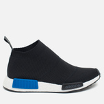Мужские кроссовки adidas Originals NMD City Sock PK Black/Royal Blue/White фото- 0