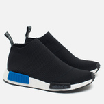 Мужские кроссовки adidas Originals NMD City Sock PK Black/Royal Blue/White фото- 1